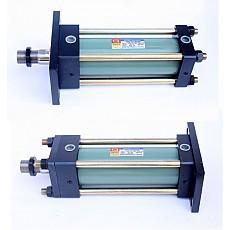 DHC-HP Series <br>로드측 플렌지형(FA형)<br>헤드측 플렌지형(FB형)